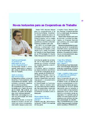 Revista Economia Solidária
